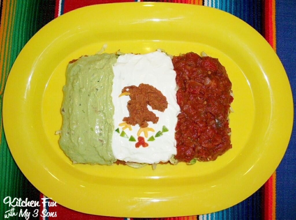 Mexican Flag Cupcakes 7 Layer Mexican Flag Dip