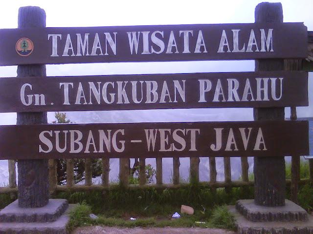 Sejarah Gunung Tangkuban Perahu Bandung, Wisata Gunung Tangkuban Perahu