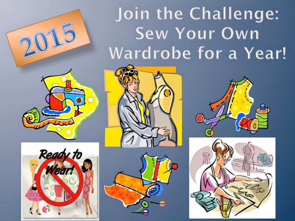 2015 SEW YOUR OWN WARDROBE CHALLENGE