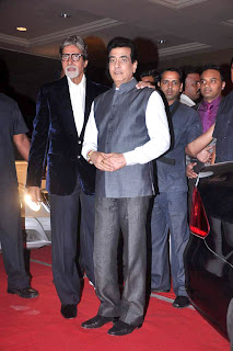 Amitabh Bachhan at Bappa Lahiri & Taneesha Verma Marriage Reception