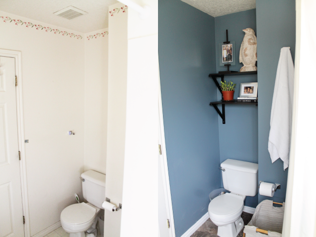 Before and After: Master Bathroom. | Chris Loves Julia