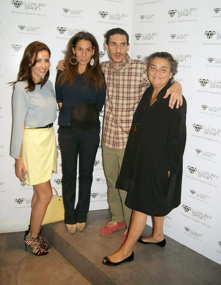 Asociación Española del Lujo, Luxury Spain, Brunch en Elena Benarroch, Carmen Hummer, Yaëll Barnatán