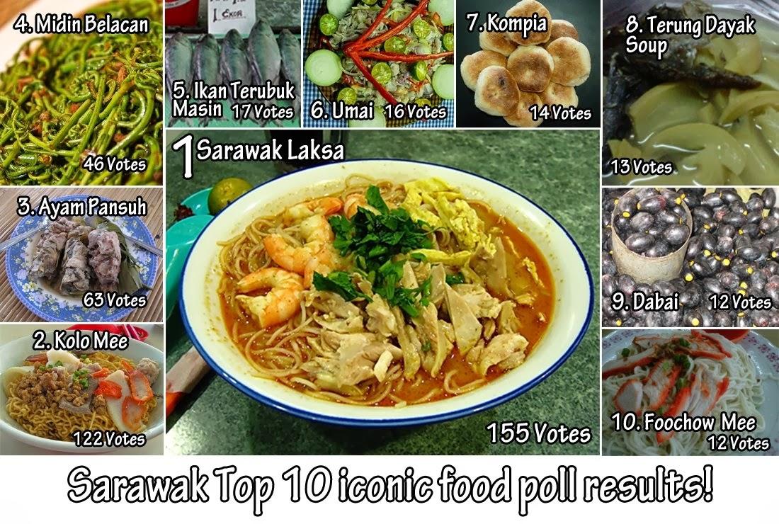 A taste of sarawak cuisines for X cuisine miri menu