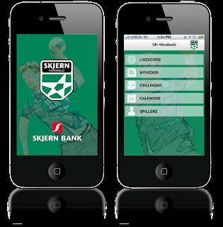 Skjern Håndbold app