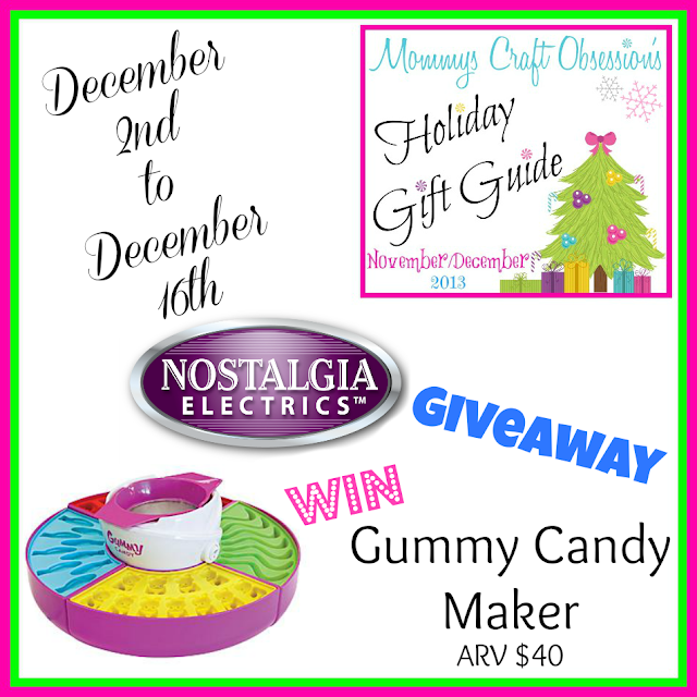 Enter the Nostalgia Electrics Giveaway. Ends 12/16.
