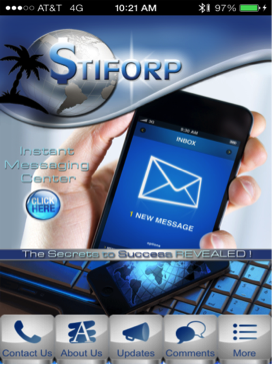 Stiforp Mobile App