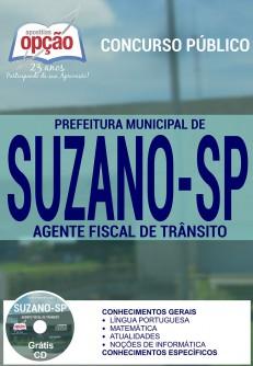 Apostila Concurso Prefeitura de Suzano - SP - Agente Fiscal de Trânsito - 2016
