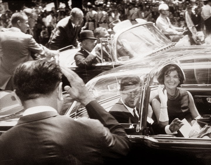 JFK Jackie bubbletop Washington, D.C. 7/11/61
