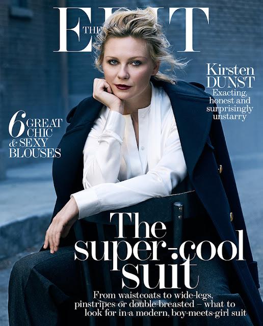 Actress, Singer, Model @ Kirsten Dunst by  Bjorn Iooss for The Edit, November 2015