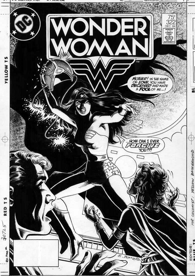 DC Comics of the 1980s: 1984 - Anatomy of a cover - Wonder Woman #322