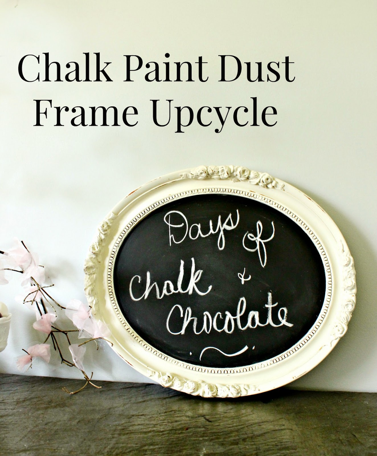 chalk paint frame
