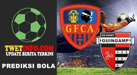 Prediksi GFCA Ajaccio vs Guingamp