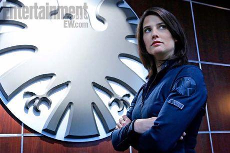 Cobie Smulders como Maria Hill en la serie de S.H.I.E.L.D.
