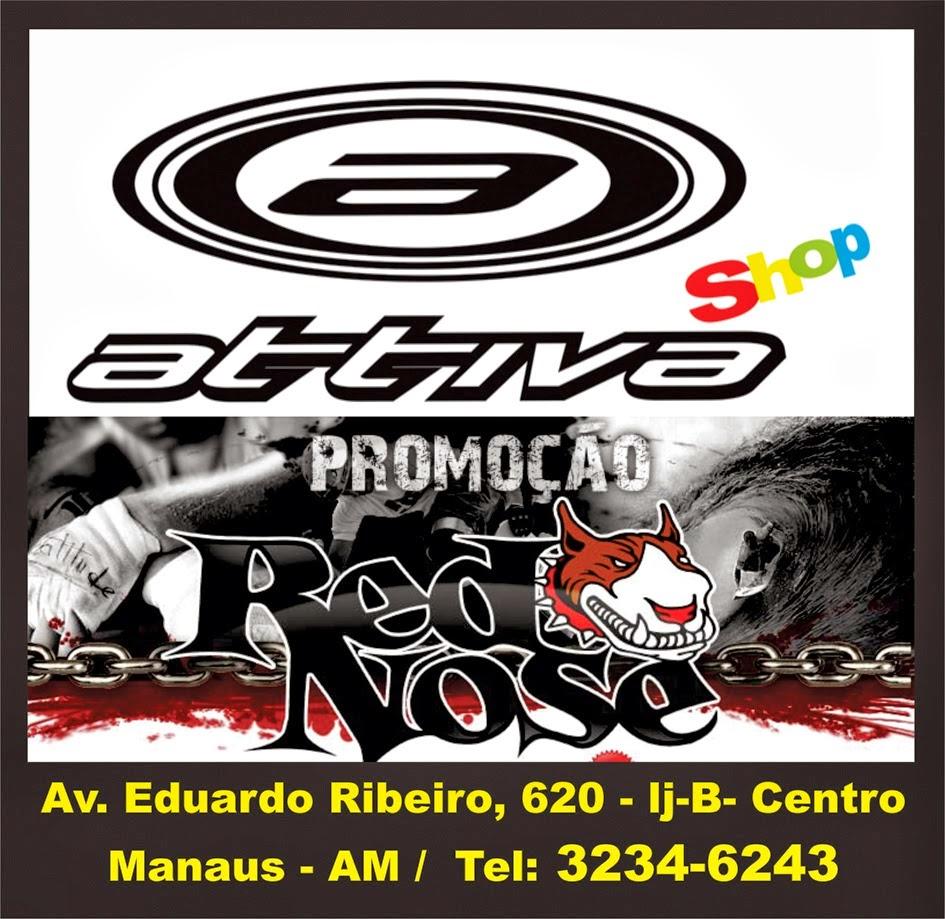 ATTIVA SHOP: Av. Eduardo Ribeiro, 620-LOJA B - Centro Histórico de Manaus