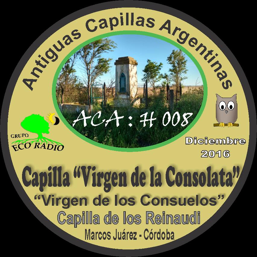 PIN Expedición Capilla Virgen de la Consolata