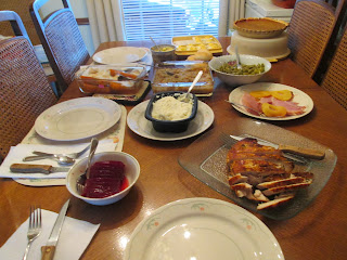 our thanksgiving meal