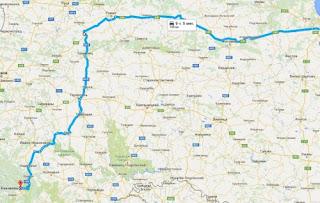 Стан дороги із Києва на Буковель