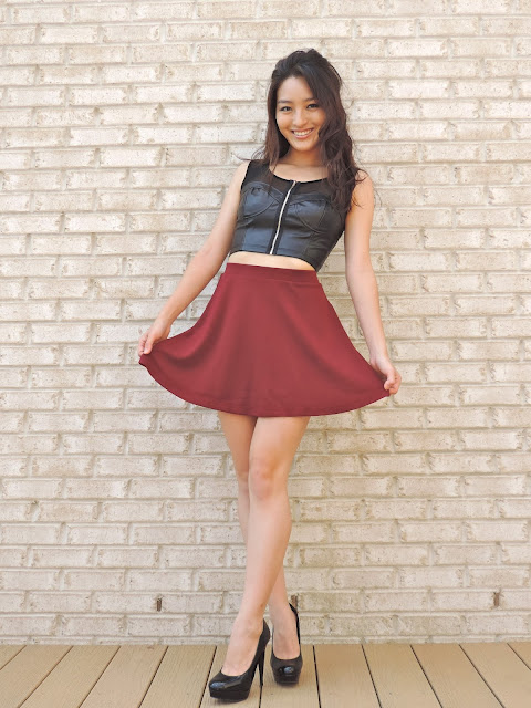 How-to Wear a Skater Skirt
