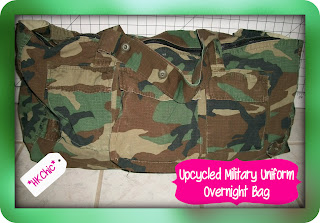 http://hkchic.blogspot.com/2012/02/upcycled-military-uniform-overnight-bag.html