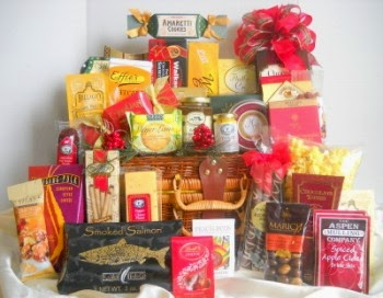 Boston gift baskets - Corporate Christmas gifts