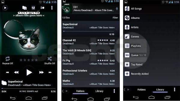 PowerAMP Music Player Android