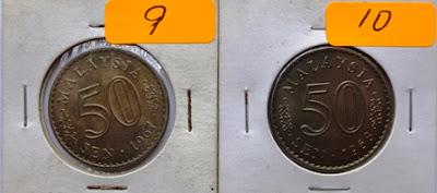 Malaysia 50 Cents 1968