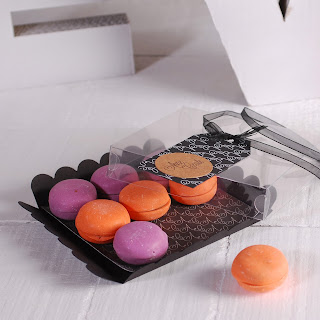 caja para macarons pequea self packaging selfpackaging selfpacking