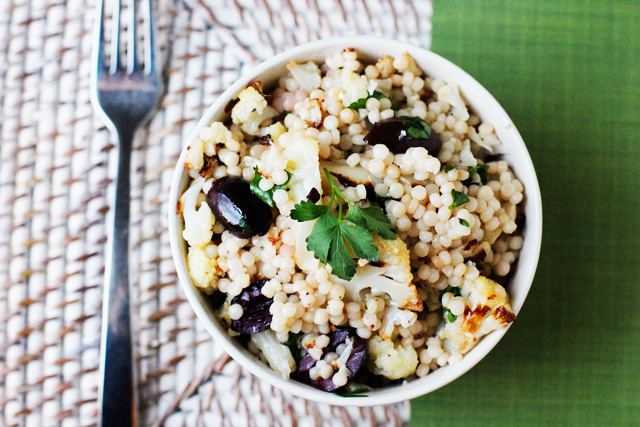 Warm Cauliflower & Israeli Couscous Salad Recipes — Dishmaps