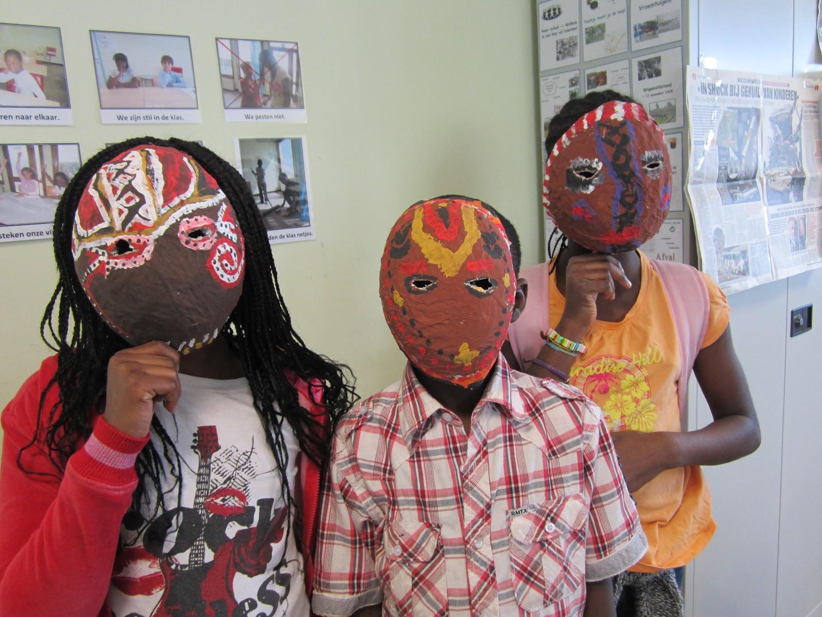 masker maken van foto