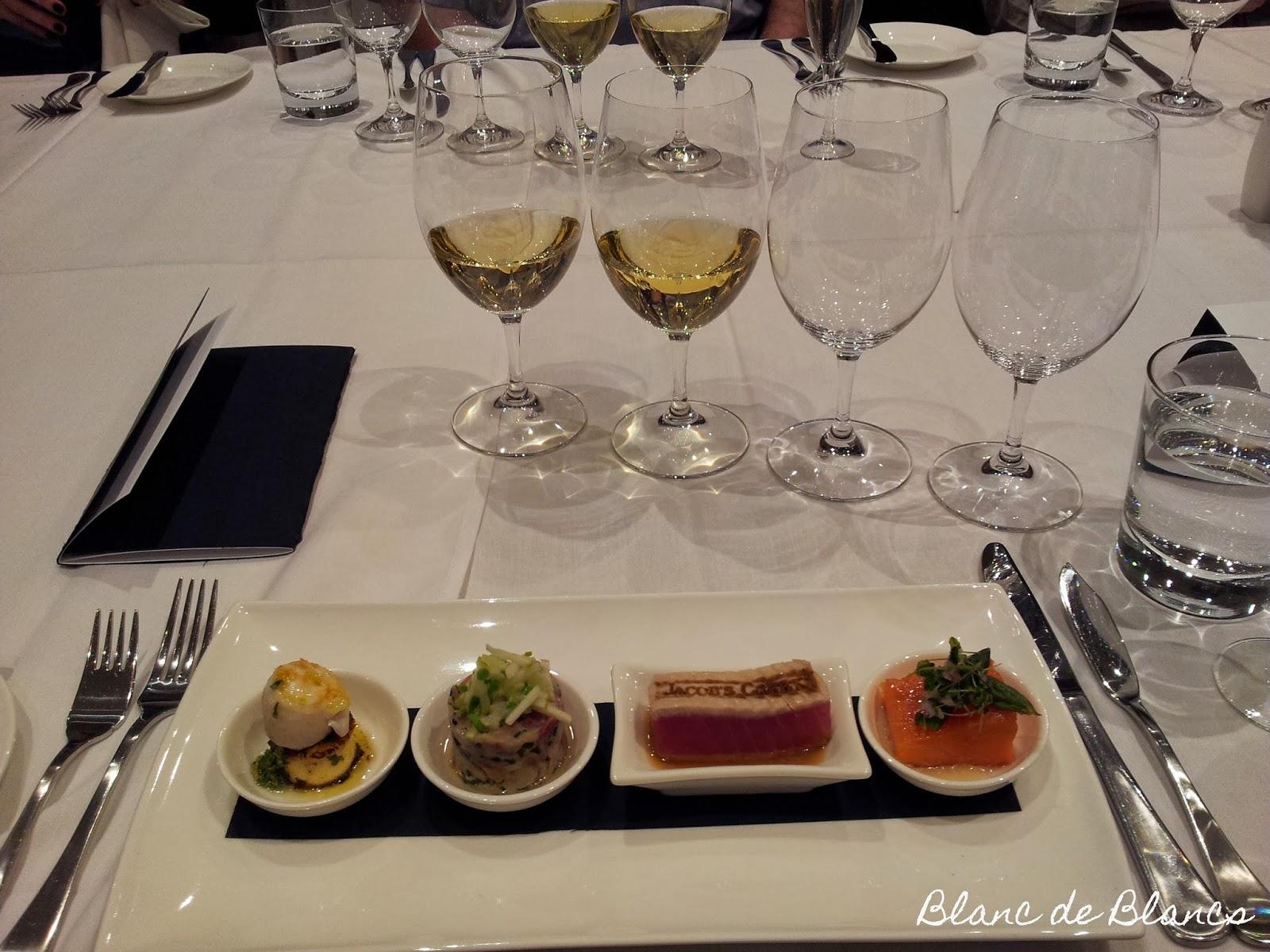 Ruokaa ja viiniä Jacob's Creekillä Australiassa - www.blancdeblancs.fi