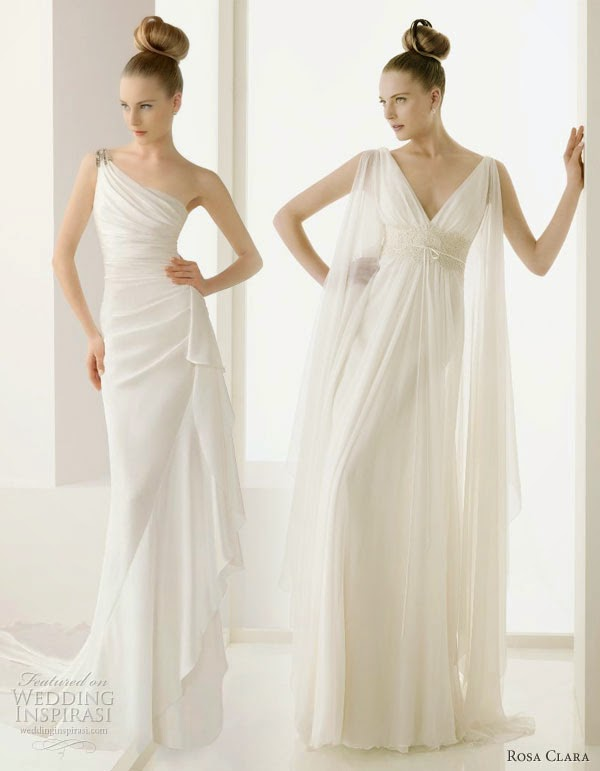 Precious Greek Goddess Wedding Gowns | Women\'s clothing fashion