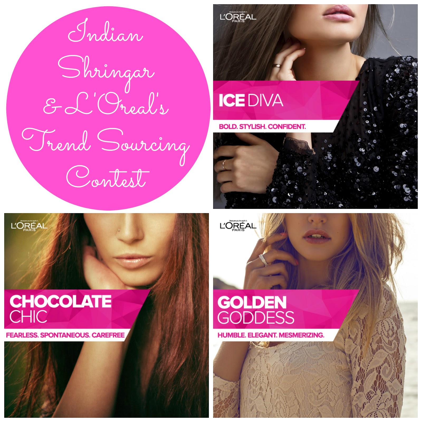 Indian Shringar and L'Oreal's Trend Sourcing Contest