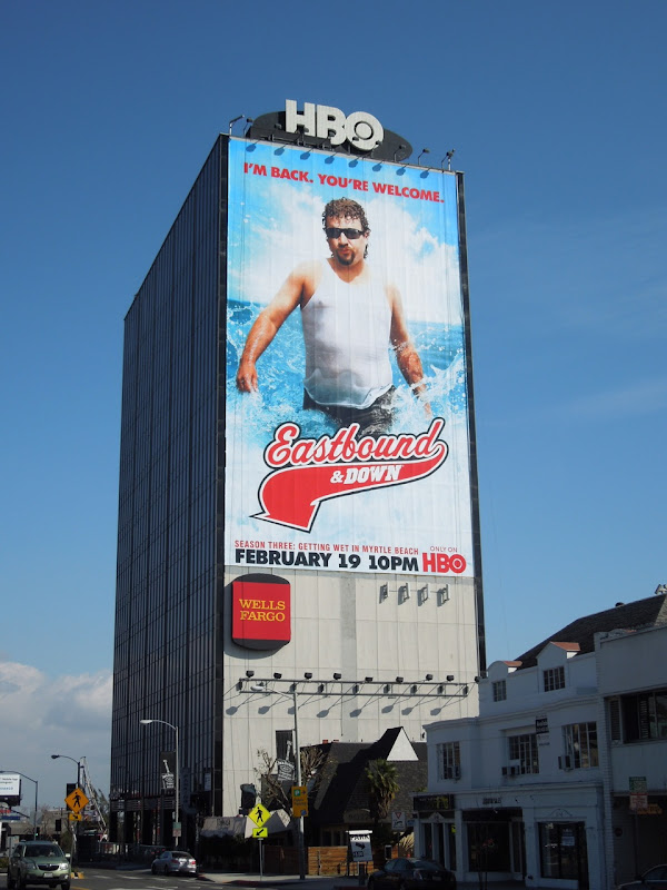 Eastbound and Down season 3 HBO billboard