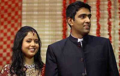 Cricketer Ashwin wedding Stills
