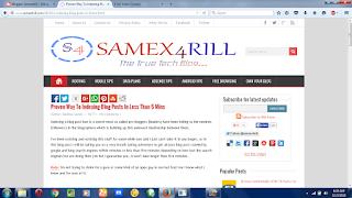 index blog post fast