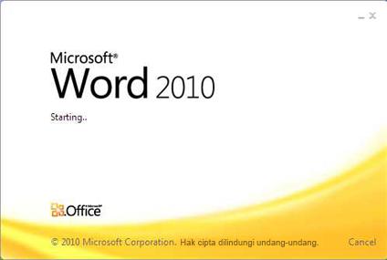 Cara Merubah Microsoft Office 2010 Menjadi Bahasa Indonesia