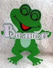 Frog Birthday