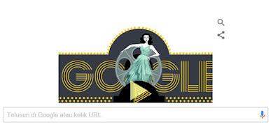 Google Doodle Rayakan Ulang Tahun Hedy Lamarr