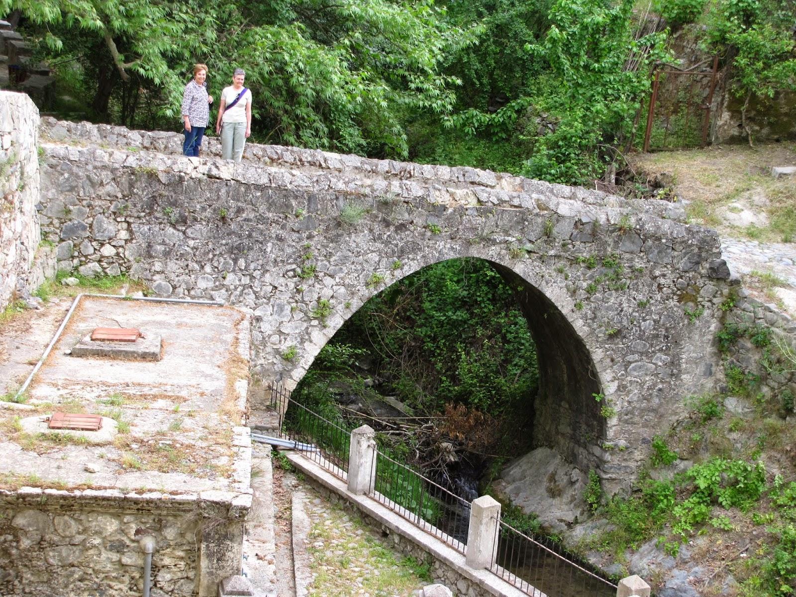 Chipre - Troodos - Puente veneciano