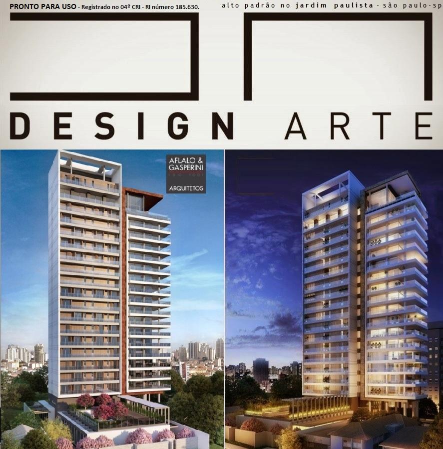 DA Design Arte Jardim Paulista - Apartamentos de alto padrão, 408m² - Rua Batataes