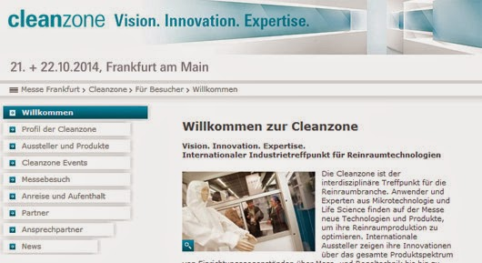 Cleanzone Messe Frankfurt