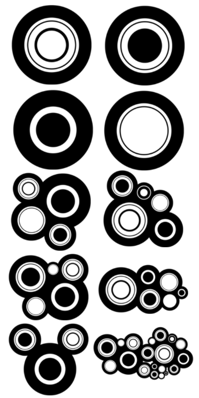 Free Photoshop Circles Vector Brushes Download