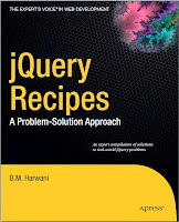 Jquery Recipes a Problem Solutions Approach Free book Download