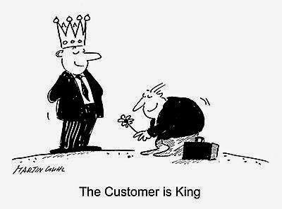 Dalam Bisnis, Customer Mungkin Adalah Raja!
