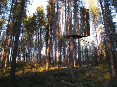 The Mirrorcube - Tree Hotel In Sweden Seen On www.coolpicturegallery.us