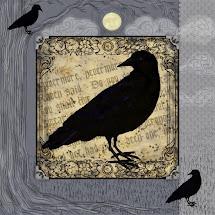 Raven Panel Fabric
