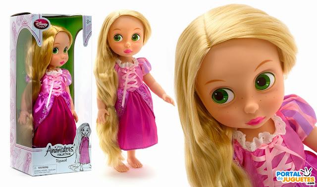 muñeca rapunzel coleccion disney animators nueva edicion