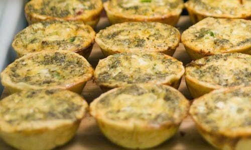Bite-sized Quiche