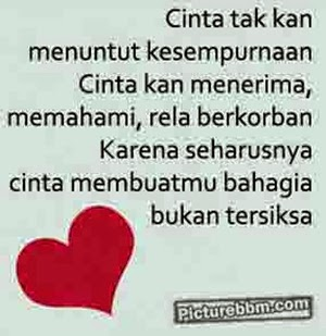 DP BBM Romantis Cinta