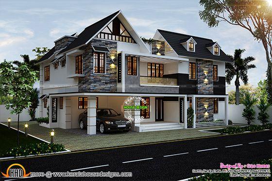 Cute home in Kerala